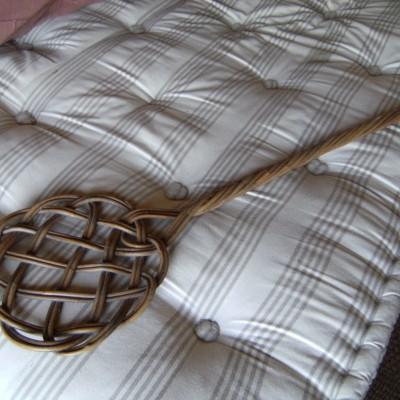 Battoir à couvertures et matelas en laine