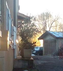 Lever de soleil à Montesquieu
