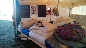 Stand Journées de la laine 2017 à Montbrun