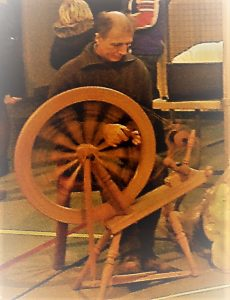 Filage au rouet